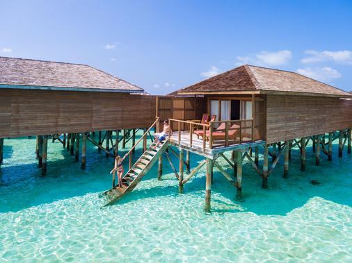 蜜月島度假村 - Meeru Island - 陽台