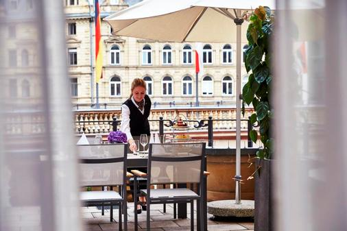 Steigenberger Frankfurter Hof - Fráncfort - Balcón