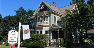Heart of the Village Inn, Modern Vermont Bed & Breakfast - Shelburne - Edificio