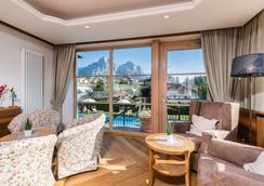 Hotel Villa Kastelruth - Castelrotto - Living room