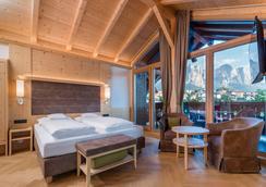 Hotel Villa Kastelruth - Castelrotto - Bedroom