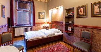 Hotel Continental - Pilsen - חדר שינה