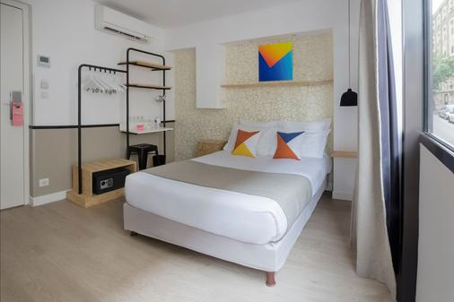 Hotel Izzy By Happyculture - Issy-les-Moulineaux - Makuuhuone