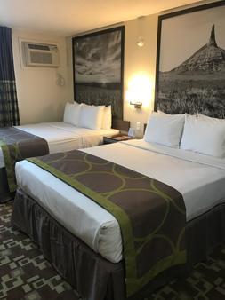 402 Hotel - Omaha - Bedroom
