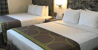 402 Hotel - אומהה - חדר שינה