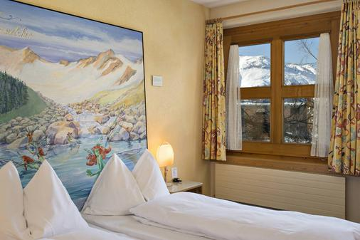 Garni Chesa Mulin - Pontresina - Bedroom