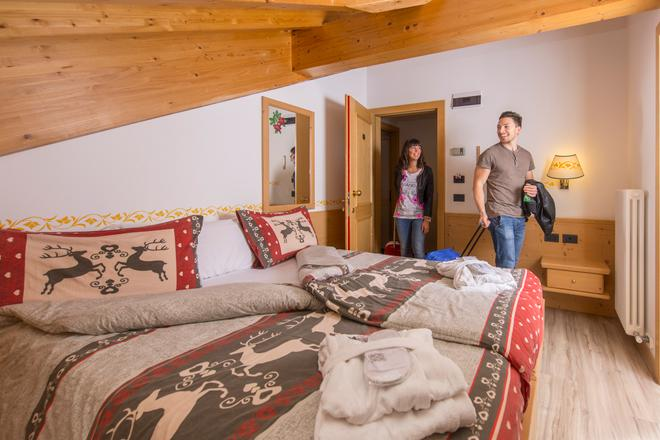Hotel Villa Rosella Park & Wellness - Canazei - Κρεβατοκάμαρα