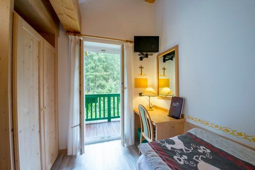 Hotel Villa Rosella - Canazei - Balcony
