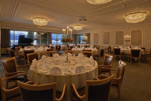 Beatus Wellness & Spa Hotel - Sigriswil - Bankettsaal