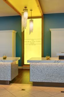 The Kensington Hotel - Ann Arbor - Front desk