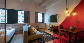 Via Amsterdam - Amsterdão - Sala de estar
