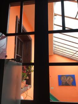 Hostal Casa Quevedo - Bogotá - Parveke