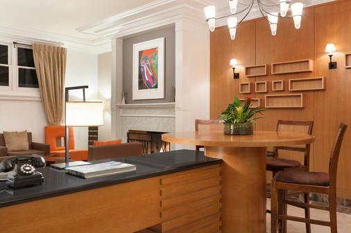 Executive Hotel Vintage Court - San Francisco - Phòng ăn