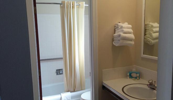 獵人環保汽車旅館 - 西雅茅斯 - 西茅斯 - 浴室