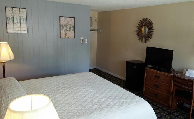 獵人環保汽車旅館 - 西雅茅斯 - 西茅斯 - 臥室