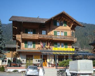 Post Hotel Vista - Zweisimmen - Будівля