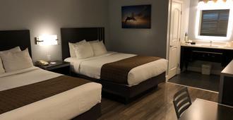 Pacific Inn - מונטריי - חדר שינה