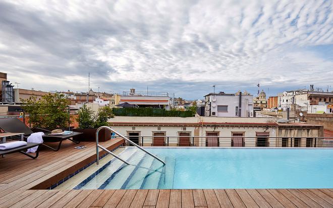 Hotel Barcelona Catedral - Barcelona - Piscina