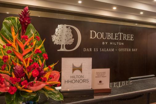DoubleTree by Hilton Dar es Salaam - Oyster Bay - Dar Es Salaam - Front desk