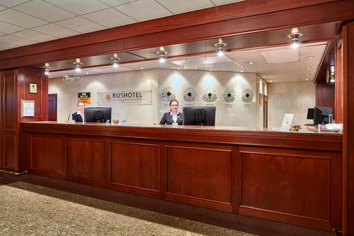 Rushotel - Moscow - Front desk