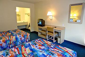 Motel 6 Chicago Ohare - Schiller Park - Schiller Park - Bedroom