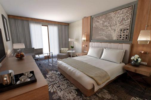 DoubleTree by Hilton Krakow Hotel & Convention Center - Krakow - Phòng ngủ