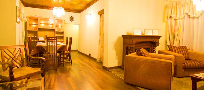 Serene Bungalow - Nuwara Eliya - Dining room