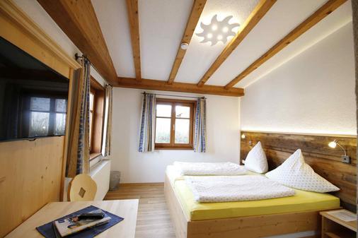 Berggasthof Sonne Imberg - Sonthofen - Bedroom