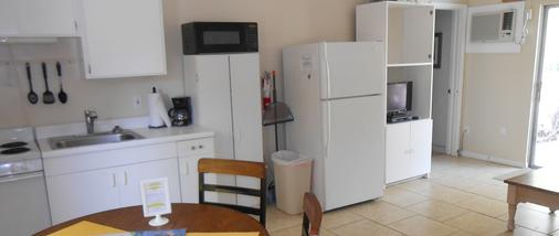 Sunshine Island Inn - Sanibel - Phòng bếp