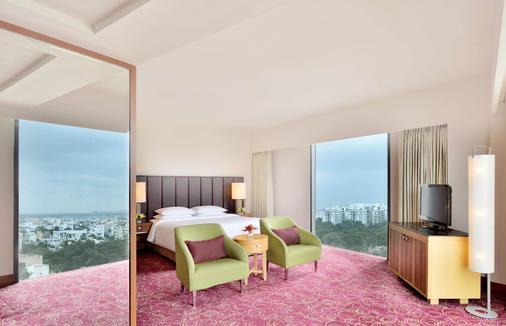 海德拉巴萬怡酒店 - 海德拉巴 - 海得拉巴 - 臥室