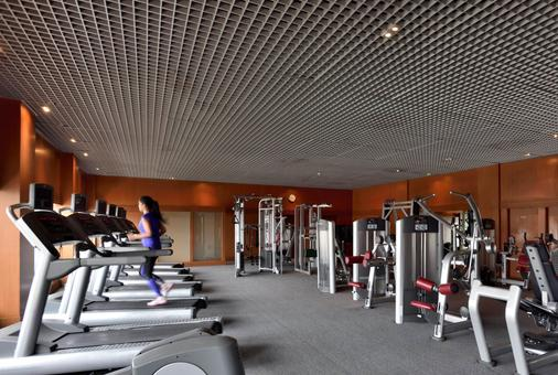 Hyderabad Marriott Hotel and Convention Centre - Hyderabad - Gym