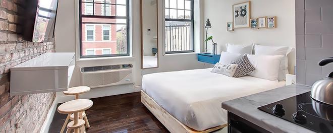 東村酒店 - 紐約 - 紐約 - 臥室