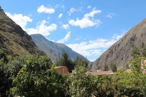 Las Portadas - Ollantaytambo - Näkymät ulkona