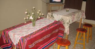 Santa Cruz Trek Hostel - Huaraz - Restaurant