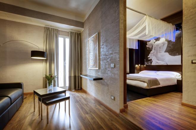 達爾馬酒店 - 羅馬 - 羅馬 - 臥室