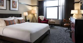Kimpton Journeyman Hotel - Milwaukee - Bedroom