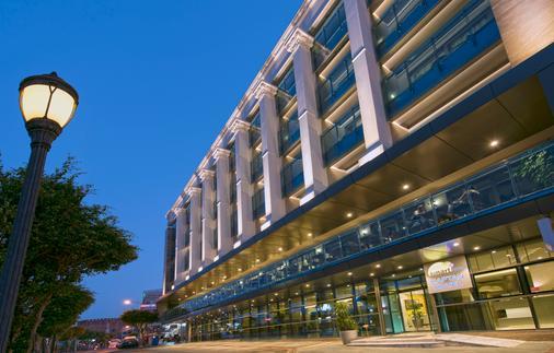 Kaptan Hotel - Аланья - Здание