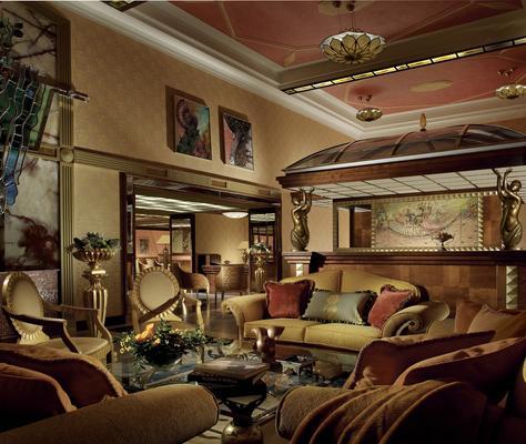 帝國藝術裝飾飯店 - 布拉格 - 大廳