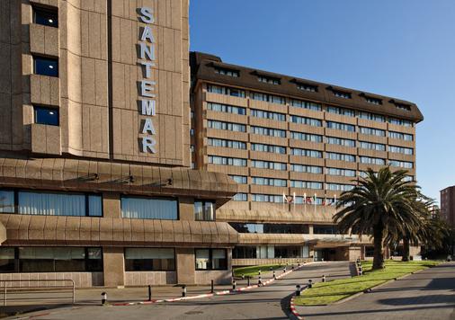 Hotel Santemar - Thành phố Santander - Toà nhà