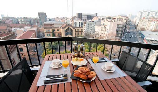 U232 Hotel - Barcelone - Balcon