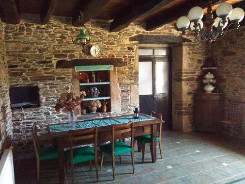 Casa Grande de Anllo - A Feira do Monte - Dining room