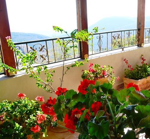 Palacio Domain Safed Luxury Boutique Hotel - Zefat - Balkon