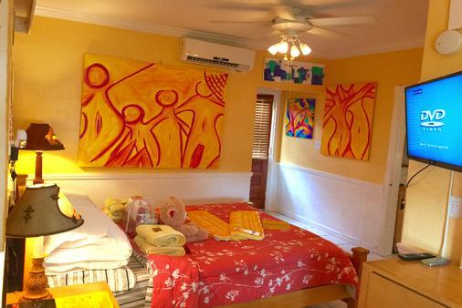 Villa Sinclair Beach Suites And Spa - Hollywood - Bedroom
