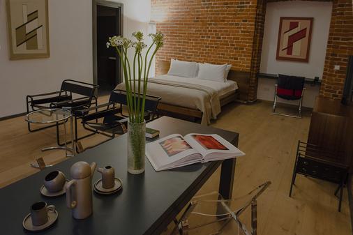 Brick Design Hotel - Moscow - Bedroom