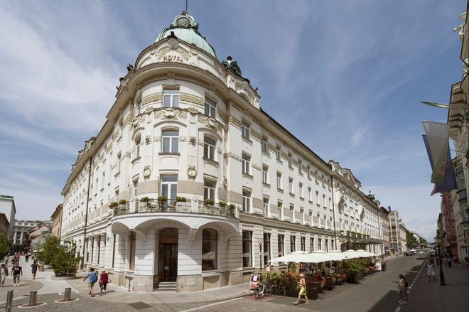 Grand hotel Union - Λιουμπλιάνα - Κτίριο