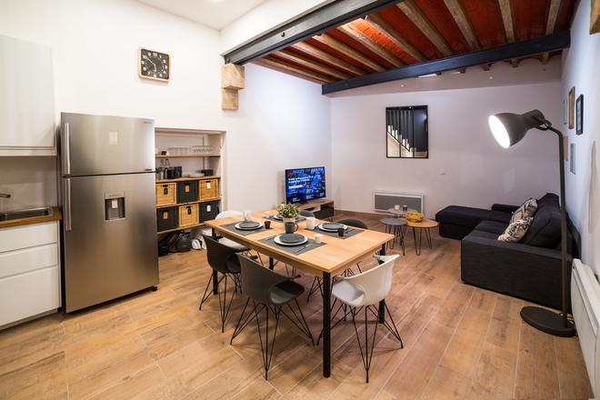 Air Rental - Coloc Gare Saint Roch - Montpellier - Dining room