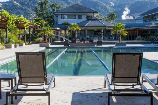 Calistoga Spa Hot Springs - Calistoga - Pool