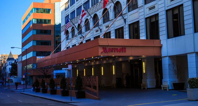 Marriott Hotel Washington Georgetown - Washington - Rakennus
