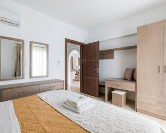 Kolymbia Dreams Luxury Apartments - Kolympia - Bedroom