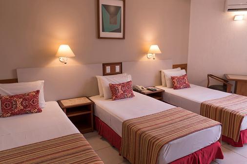 Tamandaré Plaza Hotel - Goiânia - Phòng ngủ